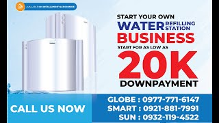 Affordable Water Refilling Sтation Business