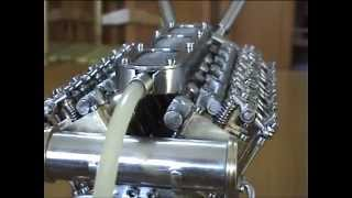 Handmade V12 Engine