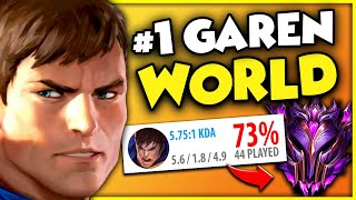 League's MOST SUCCESSFUL GAREN Player EVER SEEN... here's HOW he DOES it