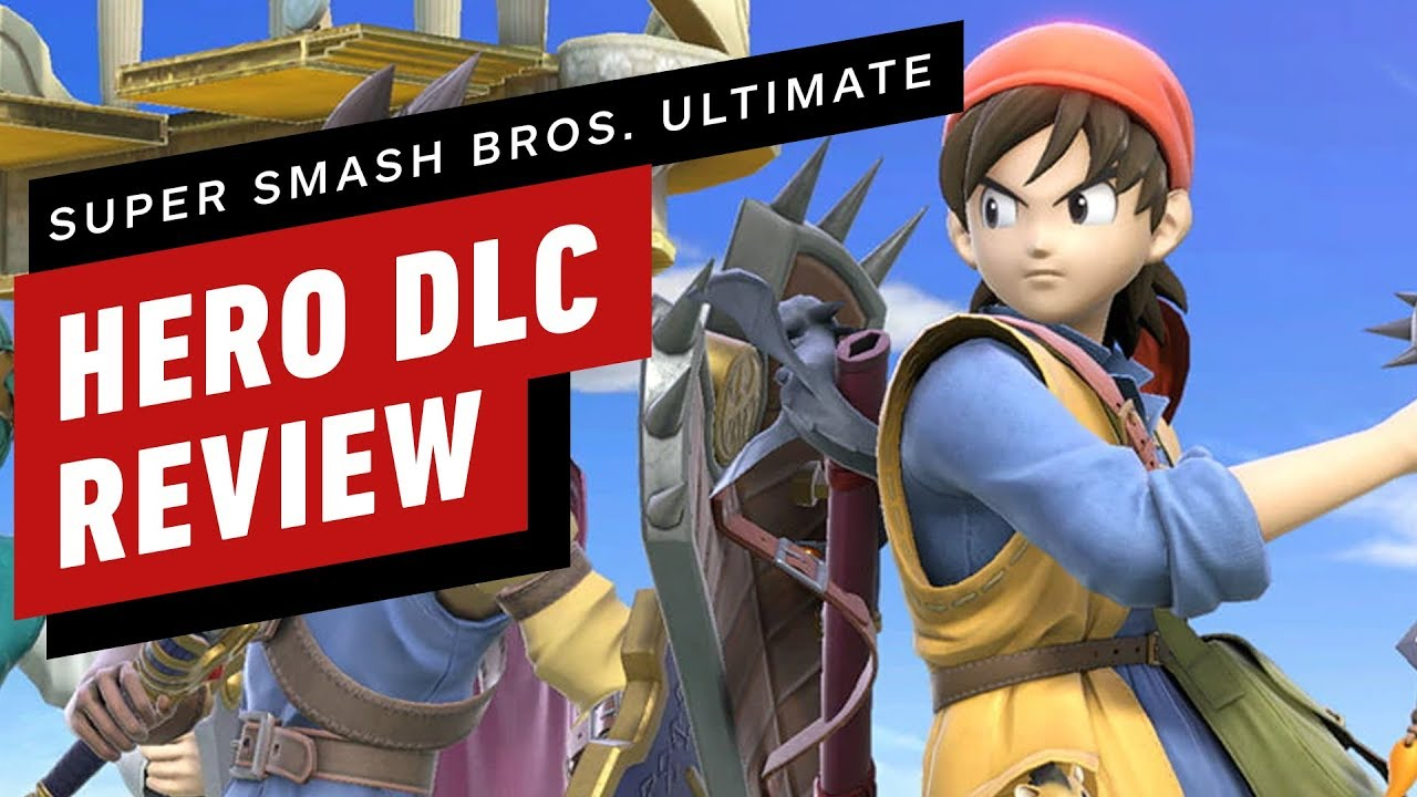 Super Smash Bros  Ultimate: Hero DLC Review