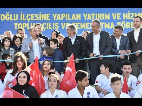 Ahmet Misbah Demircan - Beyoğlu'nda Toplu Açılış Töreni