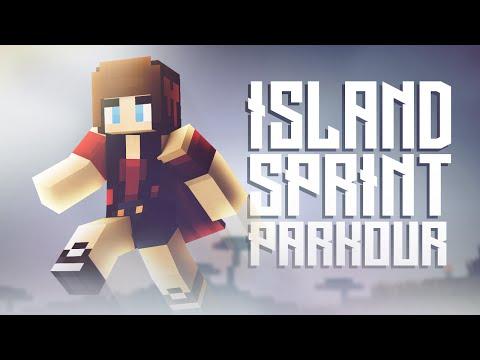 Minecraft 'Island Sprint Parkour' w/ Facecam