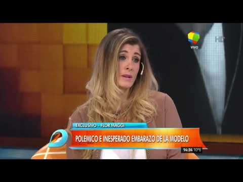 Flor Maggi aclaró las dudas que rodean su supuesto embarazo de Matías Alé