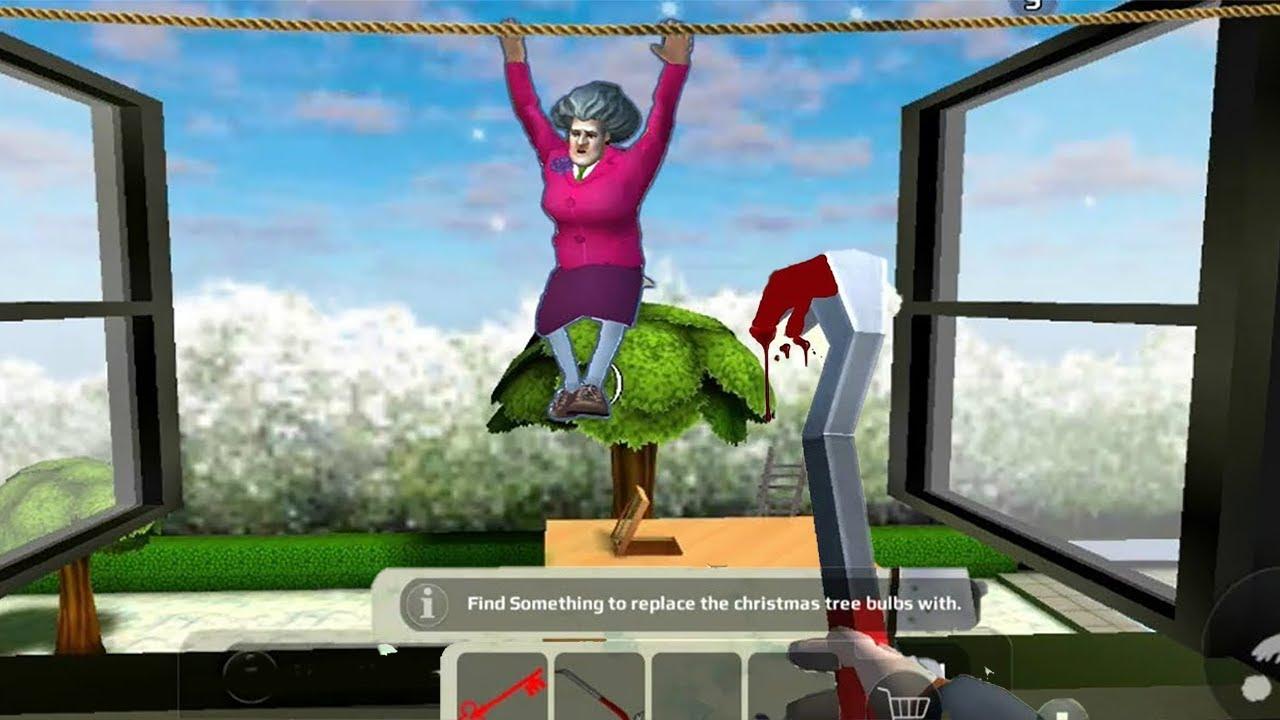 🎯TANI VS MISS.T...WHO WILL WIN????SCARY TEACHER 3D NEW CHAPTER NEW MOD APK🎯1123