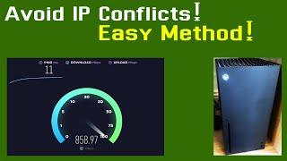 Static IP Address Xbox Series …