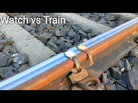 Sonata Watch Vs Train Experiment