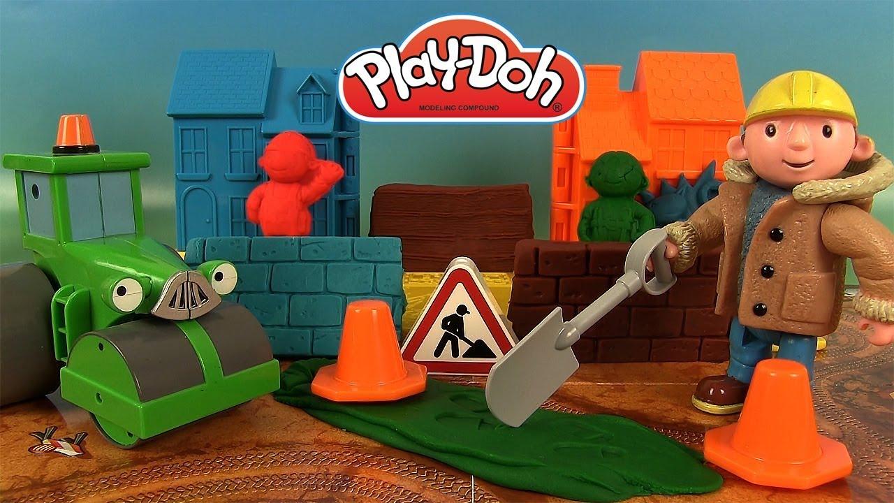 Bob le bricoleur constructeur p te modeler play doh bob - Paroles bob le bricoleur ...