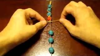 Hand made: Shamballa bracelet/ Браслет шамбала.Видео-урок №1 by Delta