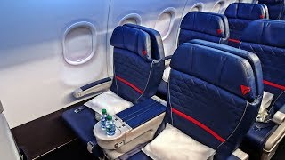DELTA DOMESTIC FIRST | SAN FRANCISCO-SEATTLE | AIRBUS A319