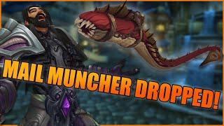 MAIL MUNCHER DROPPED AT LAST!!! - WoW BFA 8.3 Rare Horrific Vision Mount