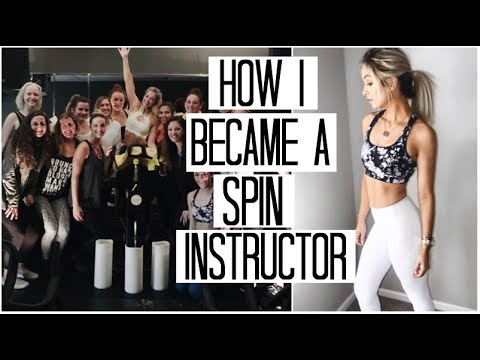 HOW I BECAME A SPIN INSTRUCTOR AT 18 | My Spin Story, Training, & More!
