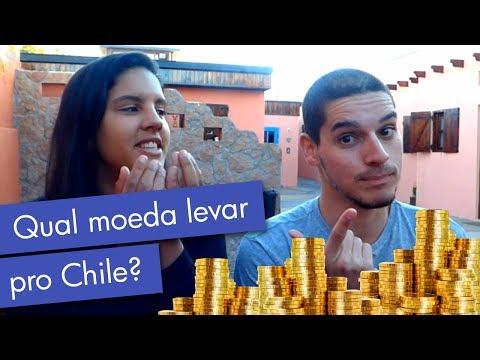Qual moeda levar para o Chile?