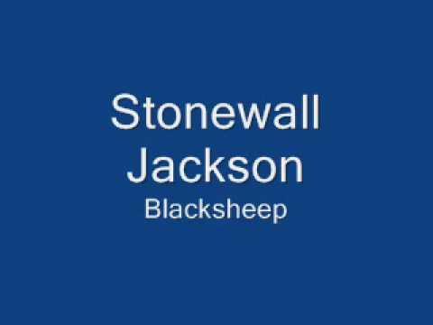 Stonewall JacksonBlack sheep