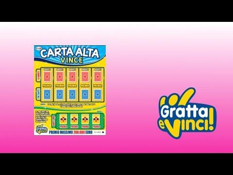 Gratta e Vinci: Carta Alta Vince - Biglietto 24 [Serie 56]