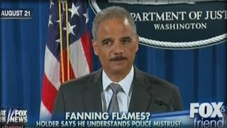 UNBELIEVABLE! OBAMA AG ERIC HOLDER JUST HAD THE AUDACITY TO THREATEN CONGRESS