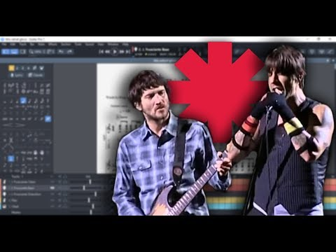 Red Hot Chili Peppers - This Velvet Glove - Live (Guitar Pro 7)
