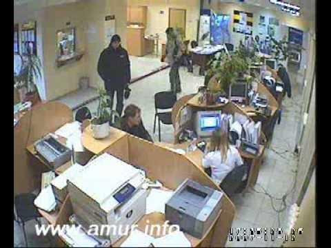 Попытка ограбления банка в Благовещенске
