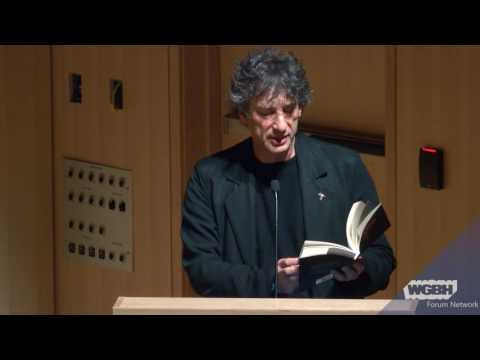 Neil Gaiman Reads a story from Norse Mythology