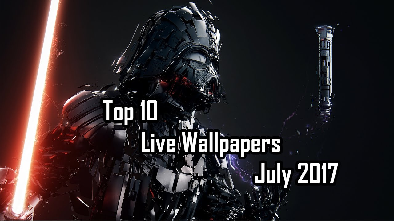 Top 10 Live wallpapers July 2017 - YouTube