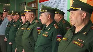 Награждение офицеров военной кафедры АлтГТУ