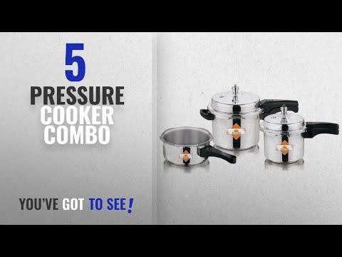 Top 10 Pressure Cooker Combo [2018]: Apex Surya 2 L, 3 L, 5 L Pressure Cooker Combo Gift Set