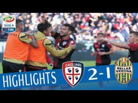 Cagliari - Verona 2-1 - Highlights - Giornata 12 - Serie A TIM 2017/18