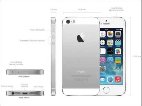 03945764f iPhone 5s Apple 16GB 3G iOS 8 Tela 4