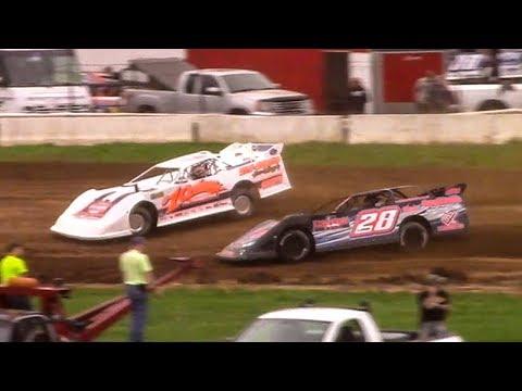 Super Late Model Heat One | McKean County Family Raceway | 5-5-18