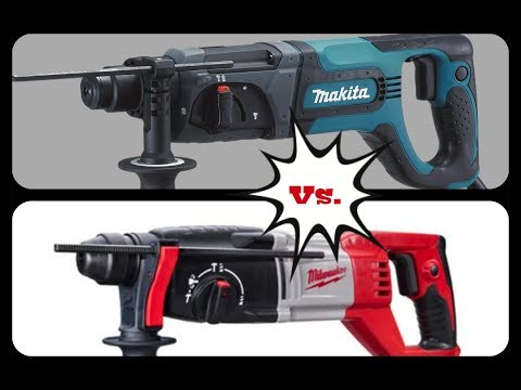 Taladros SDS PLUS Milwaukee Vs Makita