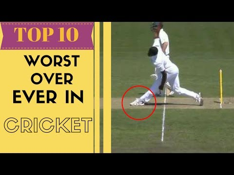 Thumbnail: Top 10 - Worst over ever bowled in cricket History | SC