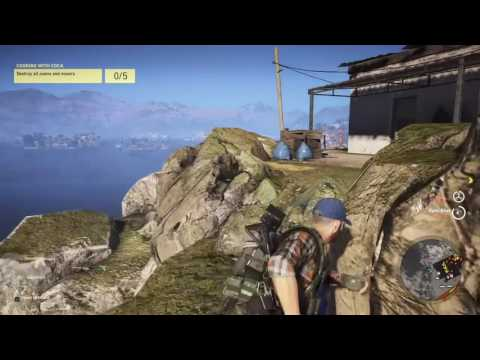 Ghost Recon Wildlands Mission #9 Cooking With Coca (Extreme)