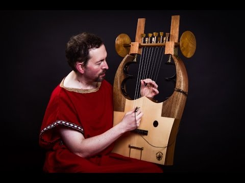 Learn to Play The Ancient Greek Kithara of Classical Antiquity! (1 of 7)