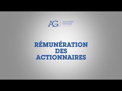 Assemblée Générale 2017 d'Air Liquide - Rémunération des actionnaires