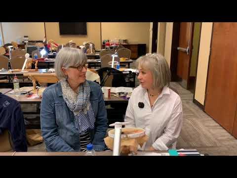 Flosstube #47 Needlework Natters with Kathy Andrews of The Unbroken Thread