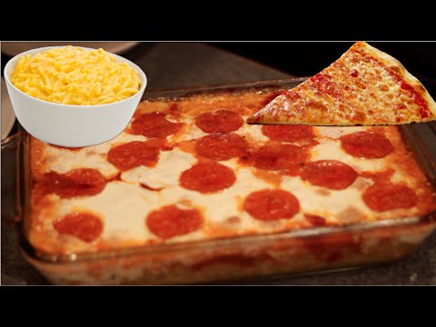 Pizza Mac and Cheese Buzzfeed Test