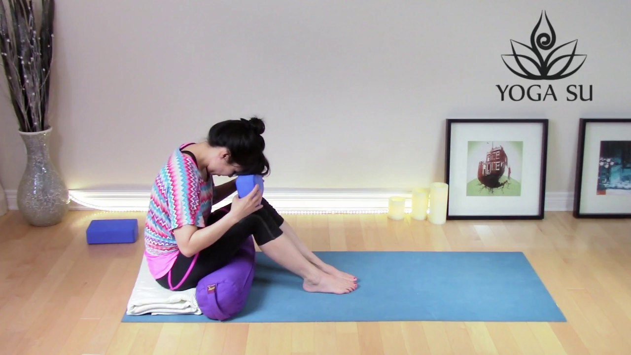 Very Restorative Yoga With Props For Shoulders No Music