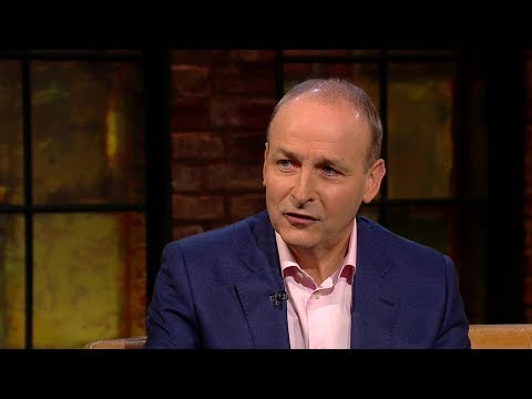 """""""I didn't like what happened to Theresa May"""" - Micheál Martin 