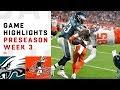 Eagles vs. Browns Highlights | NFL 2018 Preseason Week 3