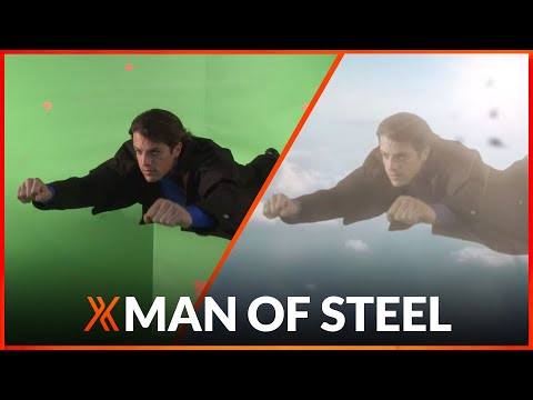 Man of Steel Superman flying VFX tutorial