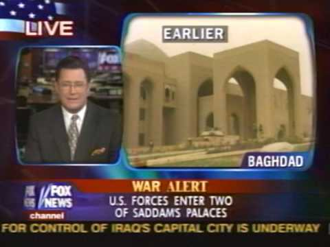 News - Iraq War - Part 2 - Entering Baghdad - 7 Apr 2003 3:30 am E.T.