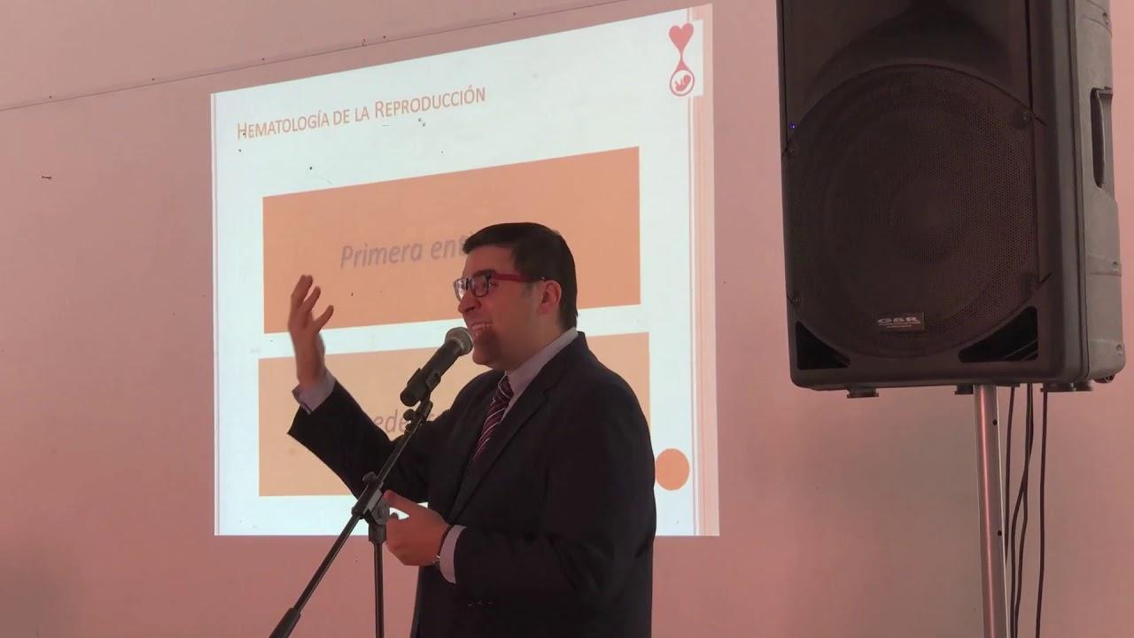 Charla Dr. Juan García MUESTRA FOTOGRAFICA TROMBOFILIA Y EMBARAZO - ZARATE