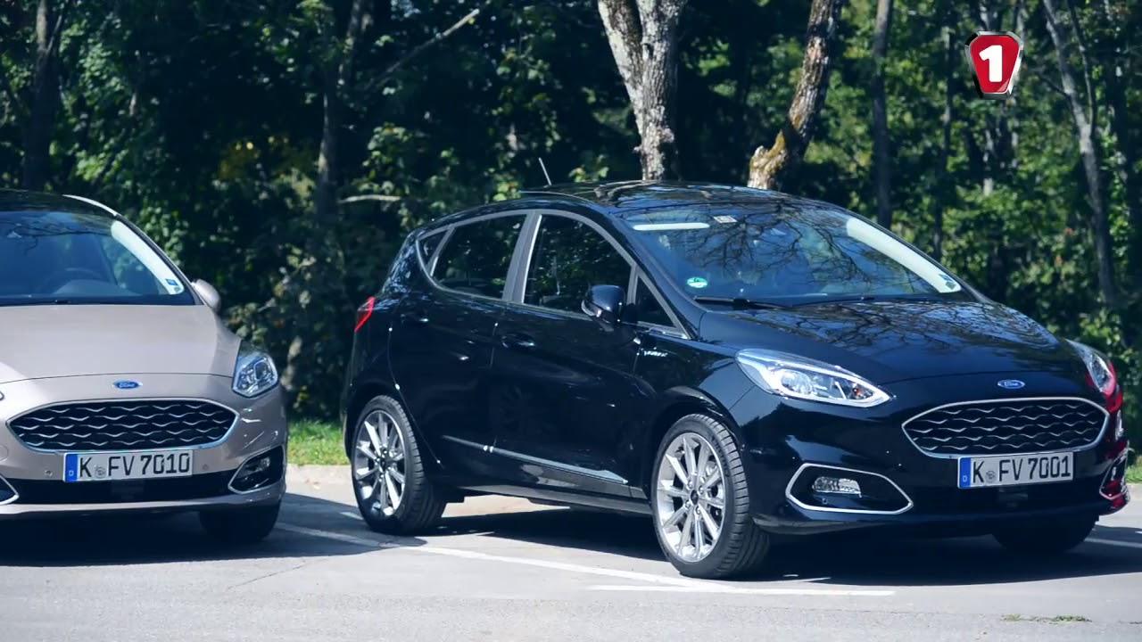 Обзор Ford Fiesta ST (съемка с квадропотера) - YouTube