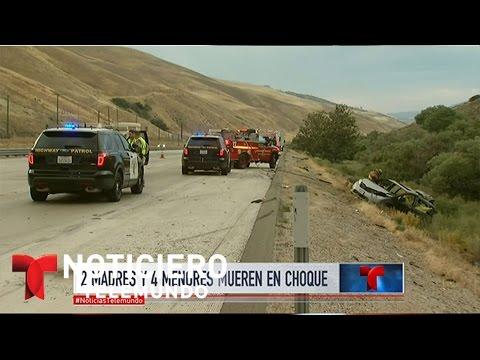 Dramático accidente en California | Noticiero | Noticias Telemundo