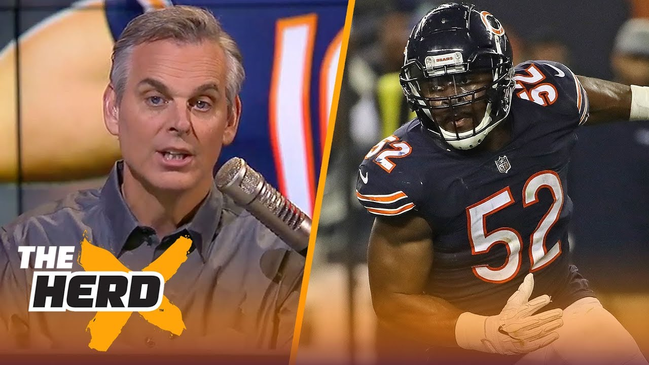 Colin Cowherd reacts to the Chicago Bears beating the Seattle Seahawks on MNF | NFL | THE HERD