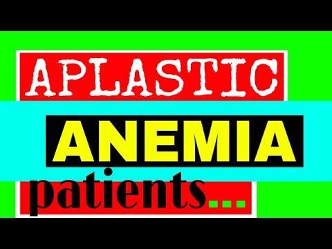 Aplastic Anemia patients