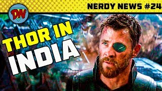 Avengers 4 Trailer & Reshoot, Indian in Wonder Woman 2, Eminem in Venom, Blade | Nerdy News #24