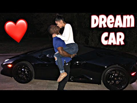 Thumbnail: SURPRISING MY HUSBAND WITH HIS DREAM CAR 😍