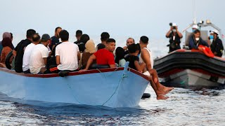 99 migrants rescued from the Mediterranean Sea