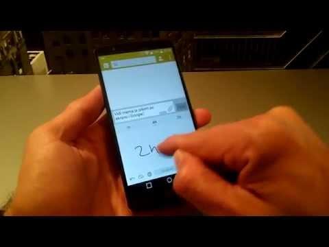 Google Handwriting Input u akciji
