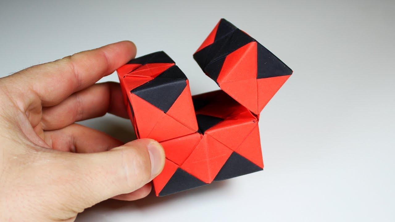 Magic Origami Spring Toy Tutorial   Origami toys, Origami, Origami ...   720x1280